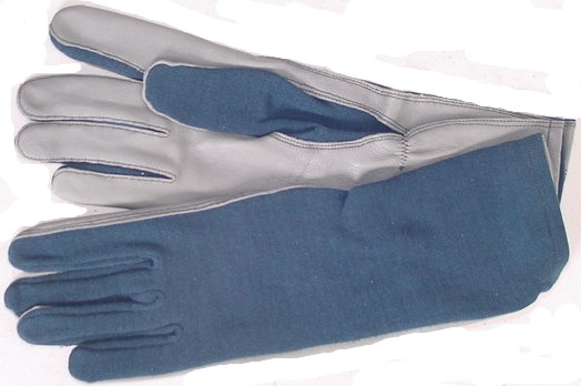 """GS/FRP-2 Nomex Flight Gloves, Royal Blue"""
