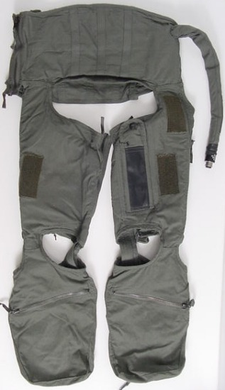 """CSU-13B/P Anti-G Suit, Cutaway - Prices vary based on size and condition. Click image for details."""