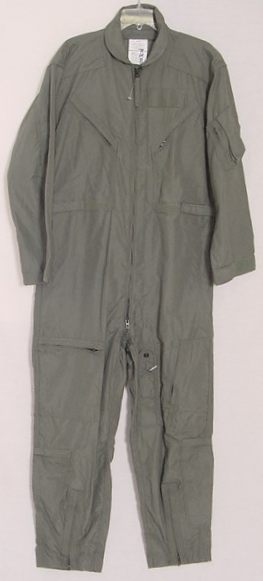 SURPLUS CWU-27/P Nomex Flight Suit, Sage Green