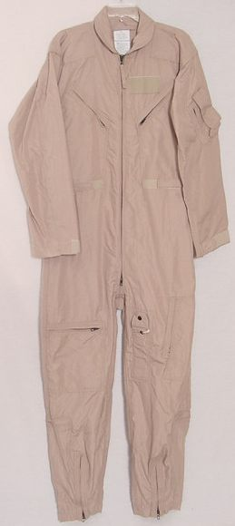 NEW CWU-27/P Nomex Flight Suit, Deset Tan - All Sizes Available
